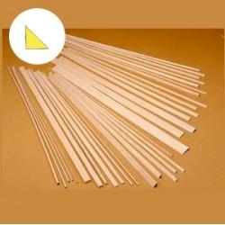Longarina triangular balsa 12x12x1000mm