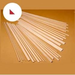 Longarina triangular balsa 8x8x1000mm