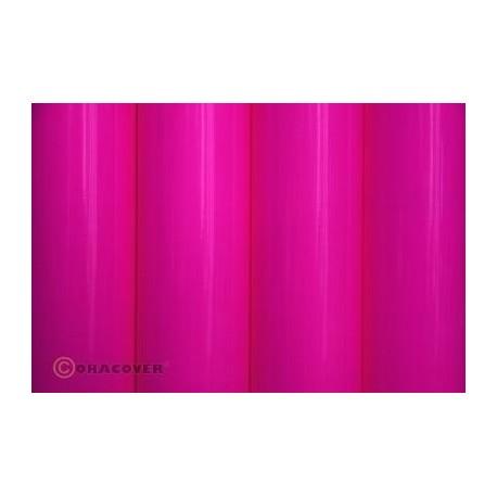 Oracover - Fluorescent neon-pink L- 60cm x C- 1m