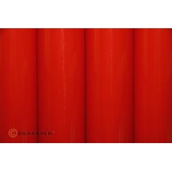 Oracover - Standard bright red L- 60cm x C- 1m