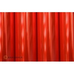 Oracover - Transparent fluor red L- 60cm x C- 1m