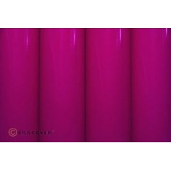 Oracover - Fluorescent power pink L- 60cm x C- 1m