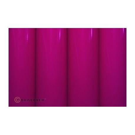 Oracover - Fluorescent power pink L- 60cm x C- 1m