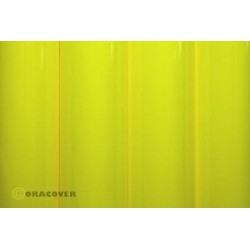 Oracover - Fluorescent yellow L- 60cm x C- 1m