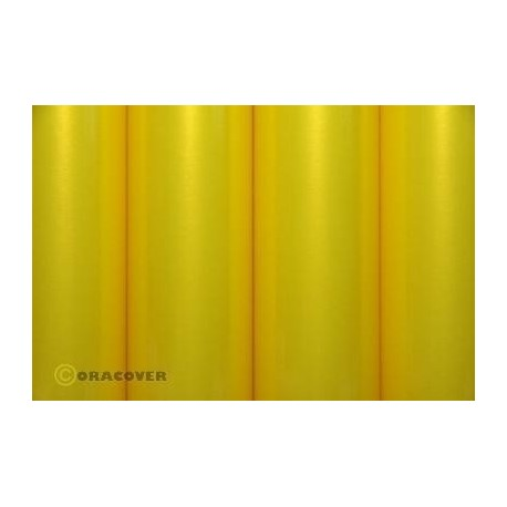 Oracover - Pearl yellow L- 60cm x C- 1m