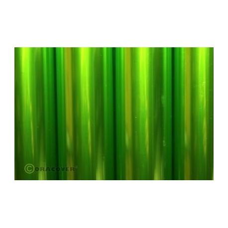Oracover - Transparent light green L- 60cm x C- 1m