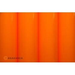Oracover - Fluorescent signal orange L- 60cm x C- 1m