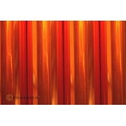 Oracover - Transparent orange L- 60cm x C- 1m