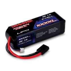 Traxxas 10000mAh 7.4v 2-Cell 25C LiPo Battery