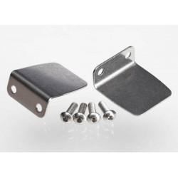 Traxxas 5730 Trim tab 2- 4x12mm BCS stainless 4