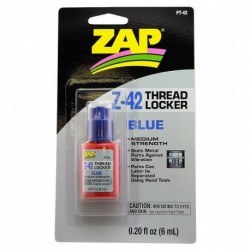 ZAP Z-42 BLUE THREAD LOCKER 6ml