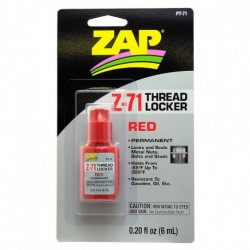 ZAP Z-71 RED THREAD LOCKER 6ml