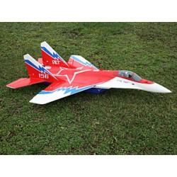 SebArt Mig 29 3D EDF - V2 (Red Star scheme)