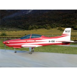 SebArt Pilatus PC21 50 Class SCALE (White/Red Version) ARTF