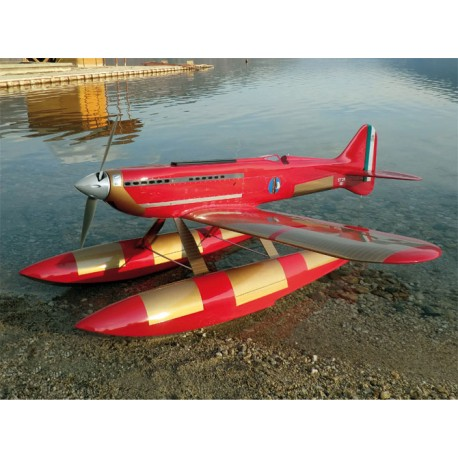 Sebart Macchi MC72 Idrocorsa 50 Class SCALE (Red/Gold Version)