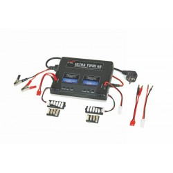Graupner High-performance Dual Fast Charger Ultra Twin 40