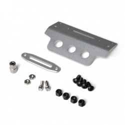 GMADE Aluminum Skid Plate Silver for GS01 Front Tube Bumper