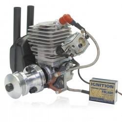 Zenoah Titan ZG 45PCI-HV with Rubber Spark Plug Cap Microprocessor-Ignition