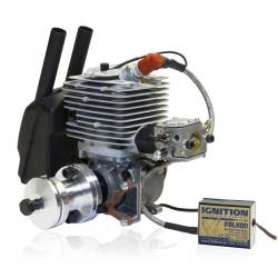 Zenoah Titan ZG 62PCI-HV with Rubber Spark Plug Cap Microprocessor-Ignition