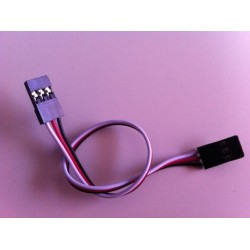 Extension Servo Cable 15cm (male/male)