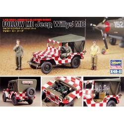 Hasegawa Follow Me Jeep Willys MB 1/48