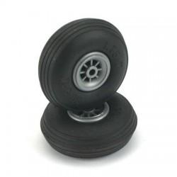 Du-Bro Round & Treaded Tires (2 pcs) 63.5mm