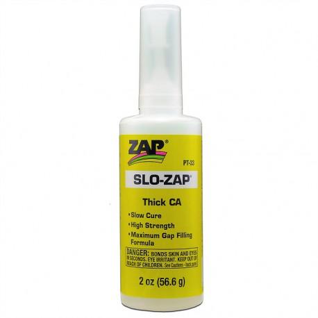 ZAP SLO- ZAP CA- (Yellow Label) Thick Viscosity 28,3gr.