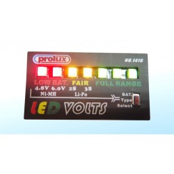 Prolux Led Volts Detector (NiCd/NiMH/LiPo)