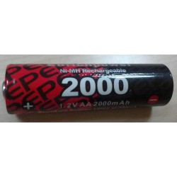 Battery NiMH AA 1,2V 2000mAh (LR6)