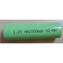 Bateria NiMH AA 1,2V 1000mAh (LR6)