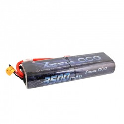 Gens Ace 3500mAh 7.4V 25C 2S1P HardCase Lipo Battery with New Packing