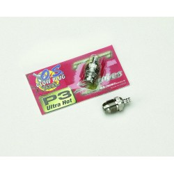 O.S. Glow Plug Turbo P3 Ultra Hot