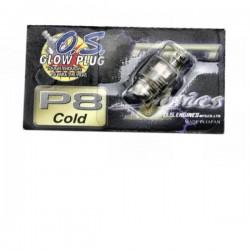 O.S. Glow Plug Turbo P8 Cold