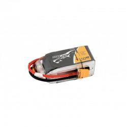 Tattu 1550mAh 14.8V 75C 4S1P Lipo Battery Pack