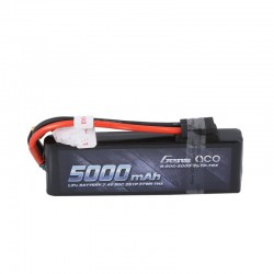 Gens Ace 5000mAh 7.4V 50C 2S1P Lipo with Original TRX Connector