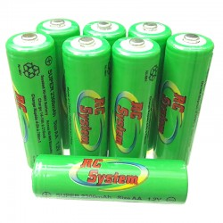 Battery NiMH AA 1,2V 2300mAh (LR6)