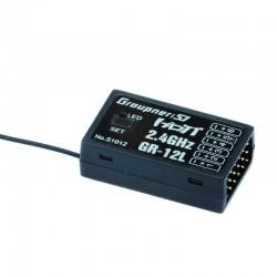 Graupner Receiver GR-12L HoTT 2.4 GHz Lose