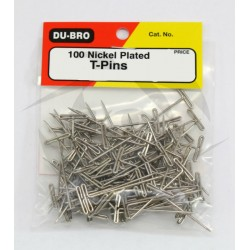 Du-Bro Nickel Plated T-Pins 31,75mm