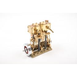Saito 3-Cylinder Steam Engine T3DR