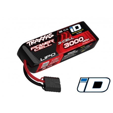 Traxxas 3000mAh 11.1v 3-Cell 20C LiPo Battery