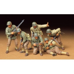 Tamiya 1:35 US Army Infantry 6 Figures
