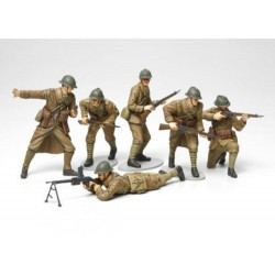 Tamiya 1:35 WWII Figure Set French Infantry