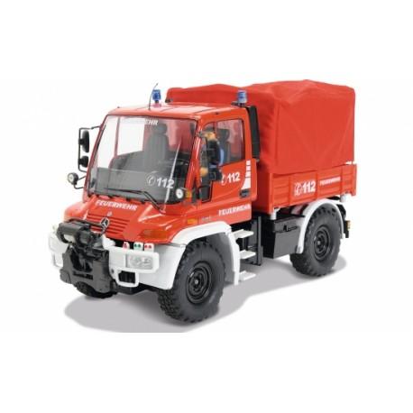 Carson 1:12 Unimog U 300 Fire Department 2.4 GHz