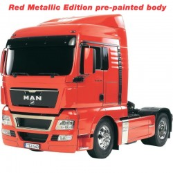 Tamiya 1/14 RC MAN TGX 18.540 4x2 (red metallic pre-painted)