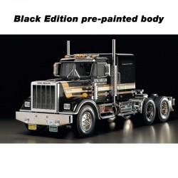 Tamiya 1/14 RC King Hauler 6x4 Black Edition