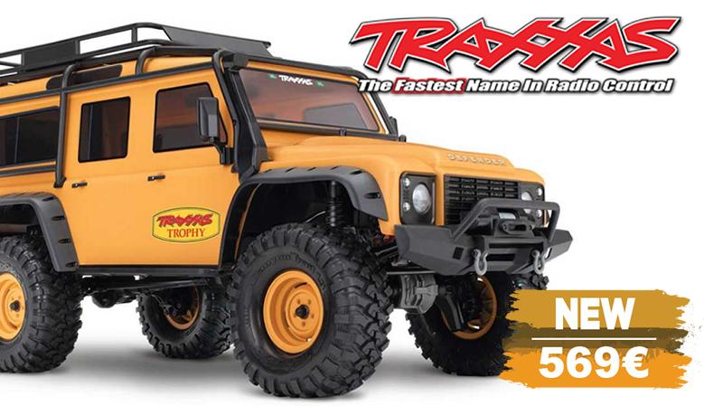Traxxas TRX-4 Land Rover Defender Camel Trophy Edition 1/10 Crawler