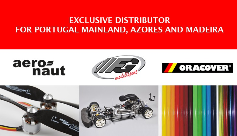 AERONAUT, FG MODELLSPORT and ORACOVER exclusive distributor