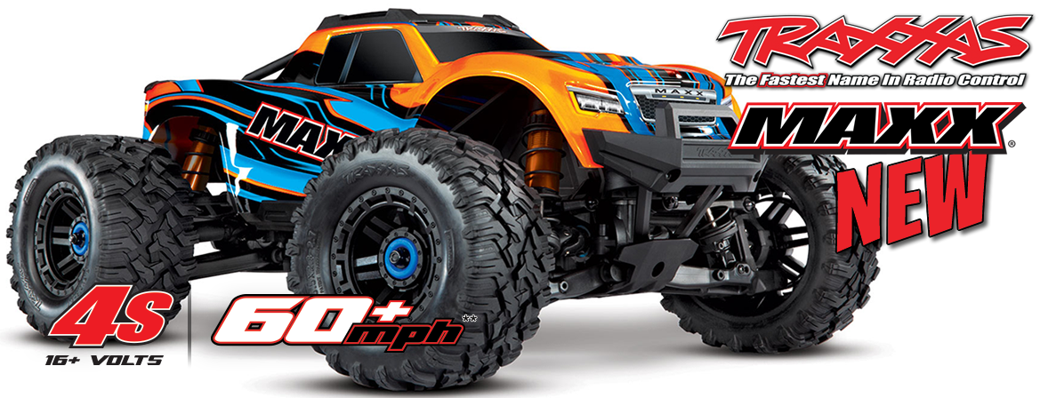 Traxxas 1/10 Scale Maxx Monster Truck (with Light Kit)