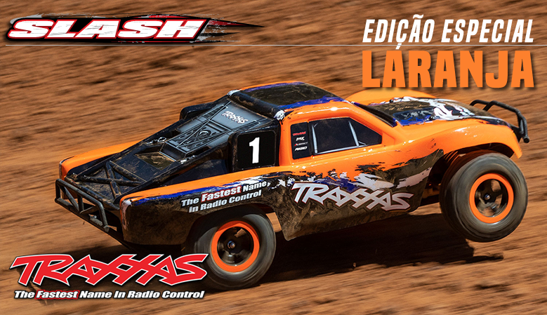 Traxxas Slash 1/10 Electric Short-Course Truck Orange Edition