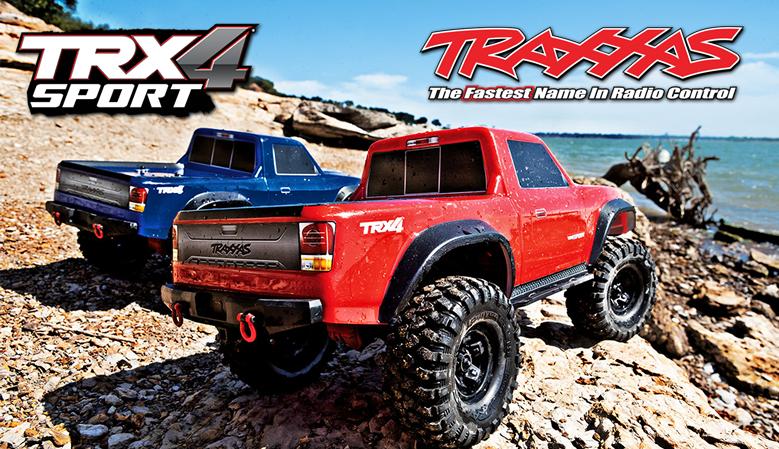 Traxxas TRX-4 Sport 1/10 Electric Truck 4WD